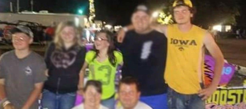 Hunter Tuttle (far left), Zoey Tuttle (middle), Triston Randall (far right)
