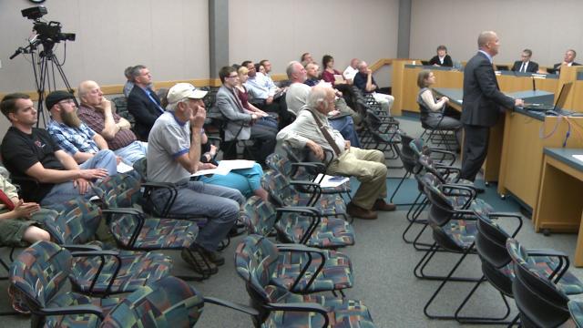 Cedar falls university ave update presented to council for La porte city iowa city hall