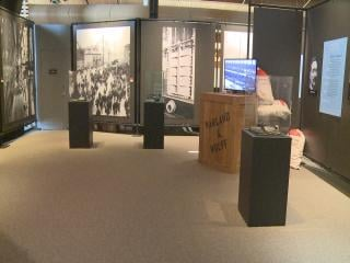This is exhibit is 5,000 square feet.  The museum had to remodel most of their second floor, including redoing wiring and their online ticket system, to get ready for the arrival of this exhibit.