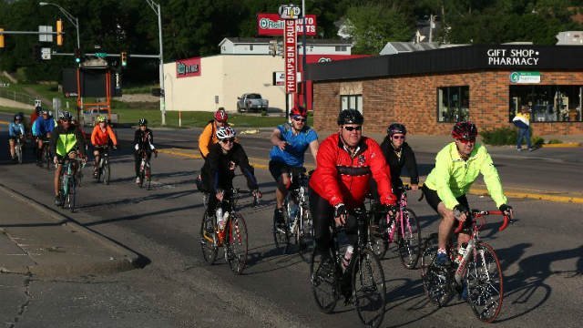 RAGBRAI route inspection team on day one of pre-ride