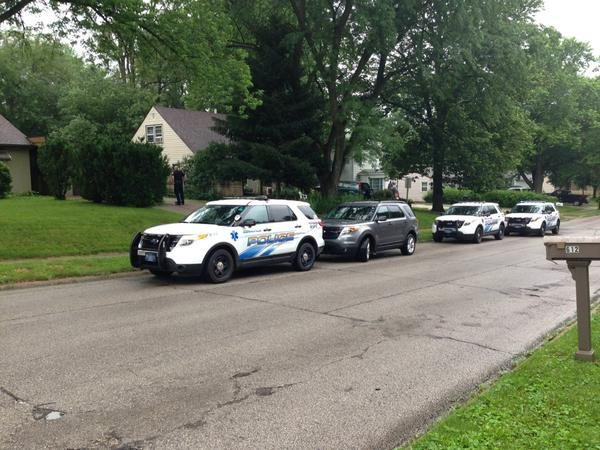 Scene of the shooting in Coralville on June 22, 2015. (Justin Andrews, KWWL)