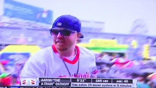 Aaron Osthoff on ESPN in 2014