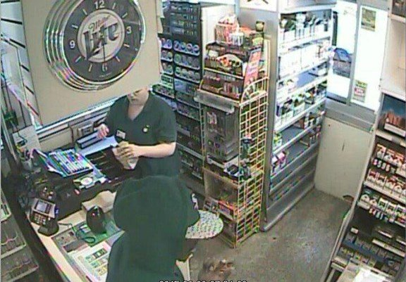 A suspect Cedar Rapids Police are searching for. They say he robbed a BP gas station last week.