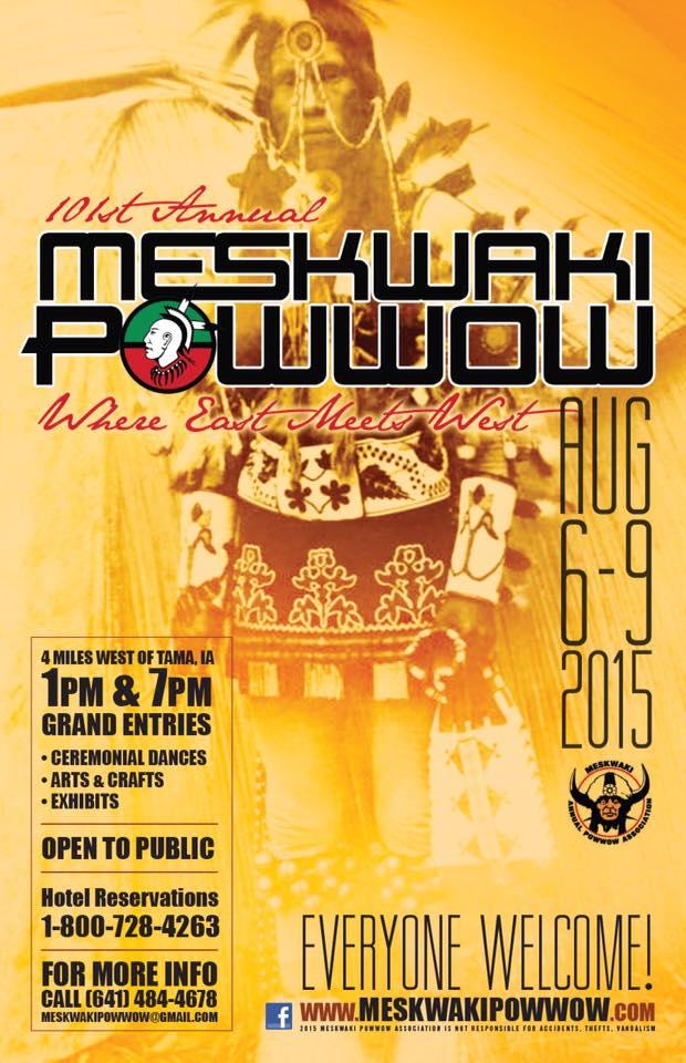 101st Meskwaki powwow