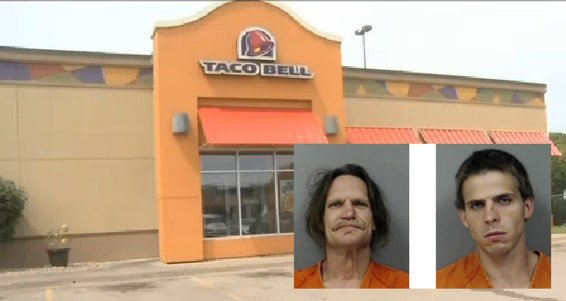 Taco Bell in Cedar Rapids with suspect mugshots