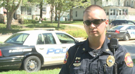Independence Police Officer Chris Cass