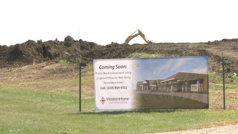 Ground broken for new community center in cedar falls for Community motors waterloo iowa