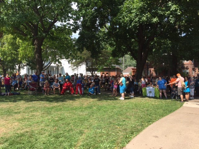 Peace Rally in Jackson Park
