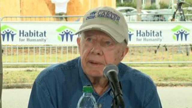 Former President Jimmy Carter (File - NBC News)