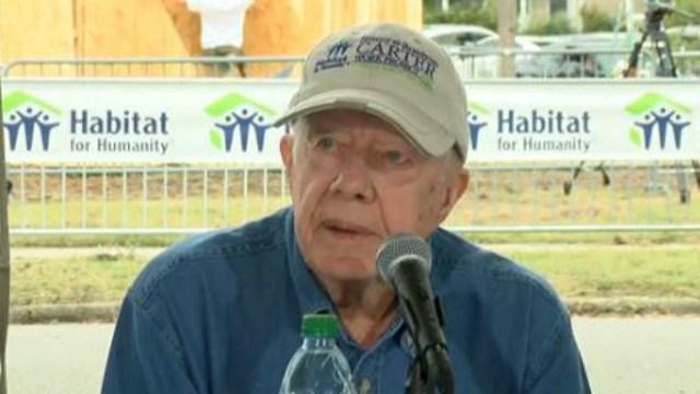 Former President Jimmy Carter (File - NBC News)
