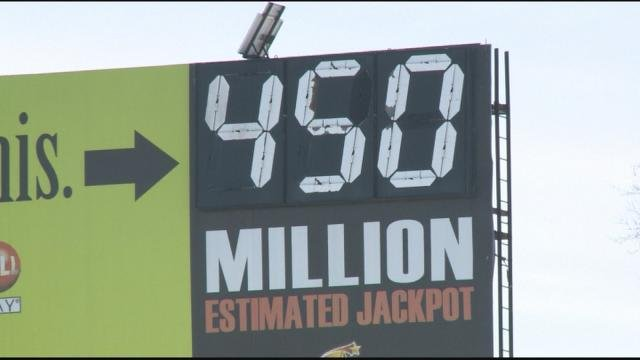 Powerball Jackpot increased to $450 Million for January 6 drawing