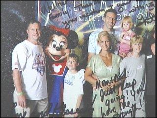 The Wellners and Warners in Disneyland