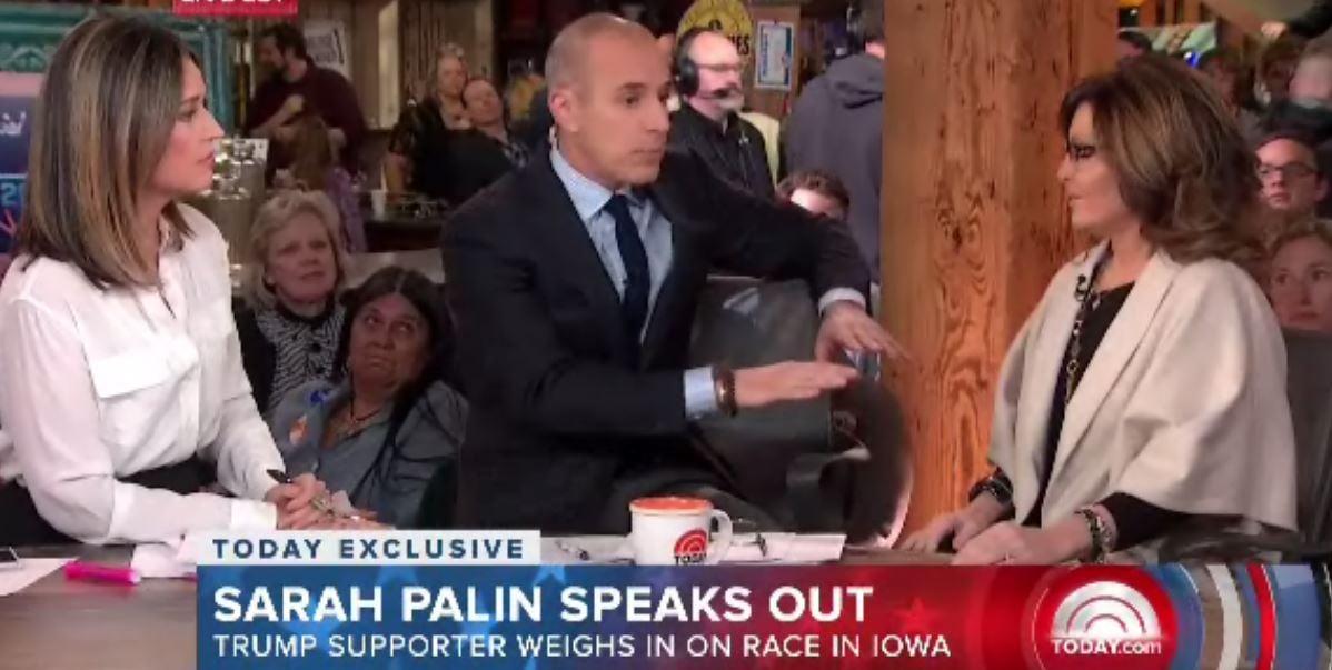 Sarah Palin on TODAY: