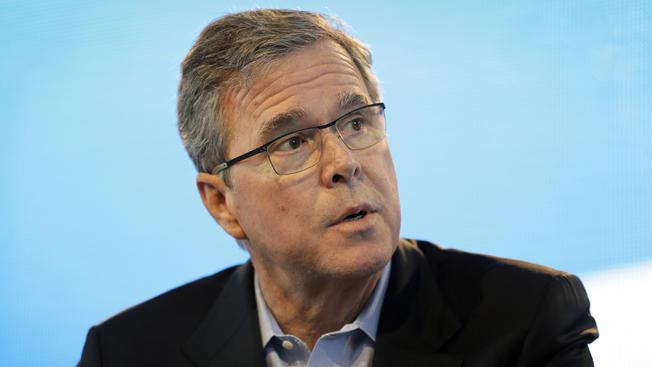 Donald Trump discusses Jeb Bush on CNN