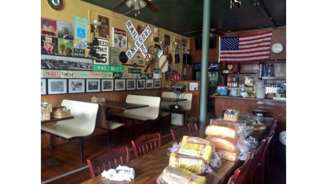 A look inside Riley's on 1st Avenue after the fire.