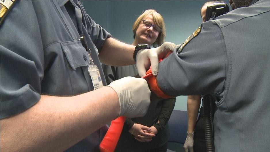 Hospital security officers learn how to help save lives in emergencies