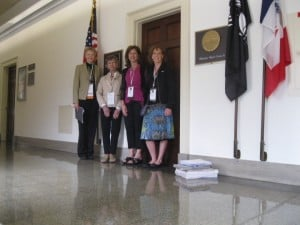 Beyond Pink Team meets with Congressman Braley's office