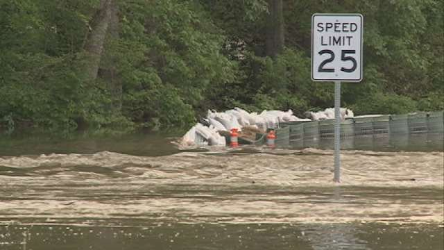 Overnight Tuesday and early Wednesday morning, Jones -- along with other city leaders -- kept watch of the Cedar River.  At 5 a.m., water broke through the HESCO flood barriers.