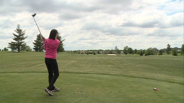 """The fifth-annual """"Wish Upon a Par"""" Tournament to benefit Cedar Valley Make-A-Wish happened Thursday afternoon at Fox Ridge Golf Course in Dike."""
