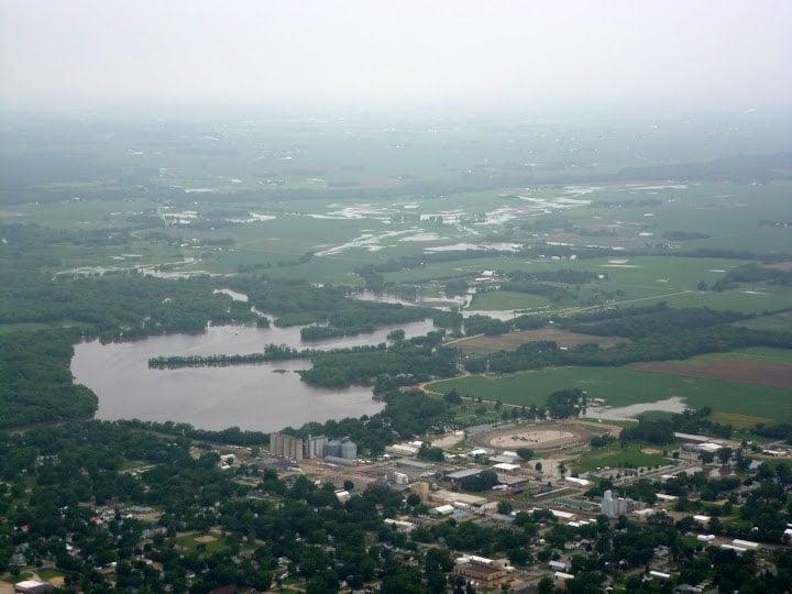 Aerial photos courtesy of John Bender
